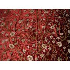 Crewel Fabric Grapes Marries Cotton Viscose Velvet