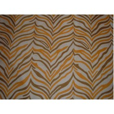 Crewel Rug Zebra Brown Chain Stitched Wool Rug (9x12FT)