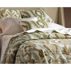 Crewel Bedding Renaissance Villa Multi Duvet Cover Cotton Duck K