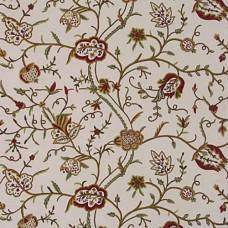 Crewel Fabric Bartholomew Ivory