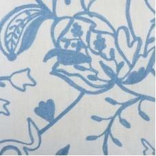 Crewel Fabric Bjork Blueberry