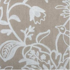 Crewel Fabric Bjork Linen